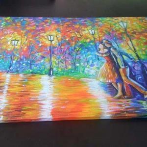 Impressão tela canvas